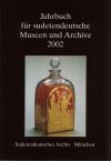 """Buchtitel """"Jahrbuch für sudetendeutsche Museen und Archive 2002"""""""